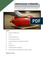 Práctica Experimental No.9. Modelo de Partículas y Presión