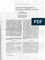 JPEG Compression Stegenography