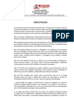 Edital Revista PGM
