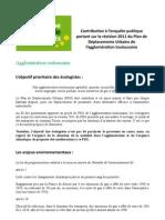 Contribution EELV à l'enquête publique PDU version définitive mars 2012