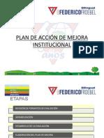 Plan de Mejora Preescolar