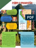 Mi infografía origen y expansion inca