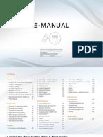 Samsung TV UE40D5520 Manual