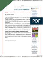 08-11-12 Cambio - RMV firma convenio con la Cámara de Diputados para el 5 de mayo