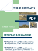 Public Works Contracts