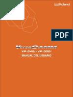 VP 540i Manual Usuario