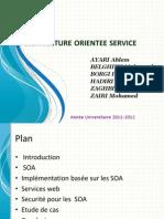 Architecture Orientee Service