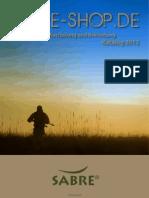 Sabre Katalog 2012
