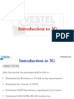 1. Introduction to 3G