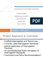 Al Qaeda 3700 - 445 - Presentation - What Should Be Done With Captured Jihadists