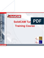 Solid Cam 2007 Turning Training Course