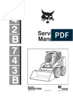 11004010 Bobcat 863 Skid Steer Loader Service Repair Workshop Manual Download S N 514425001 Above S N 514525001 Above S N 514625001 Above Elevator Transmission Mechanics