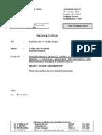 Projet OMVG-Completion Report