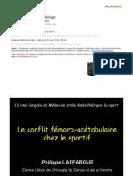 Laffargue Conflit Femoro ire Chez Le Sportif