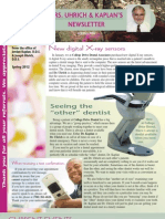 College Drive Dental Spring 2012 Newsletter
