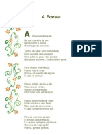 A Poesia. Baltasar Fonseca 1º Ciclo
