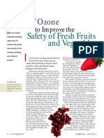 Ozone Sterilization