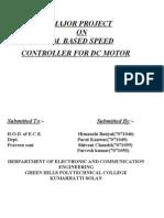 Pwm Based Dc Motor Control1