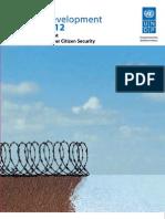 Caribbean Human Development Report [UN HDR2012]