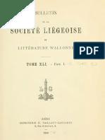 Jules Feller - Essai d'orthographe wallonne (1900)
