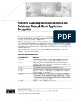 Dtnbarad(Network-Based Application Recognition)