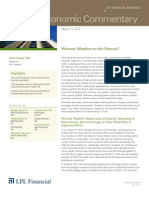 Weekly Economic Commentary 3-19-12