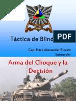 Instrucción Táctica de Blindado