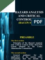 Haccp (Che Laws)
