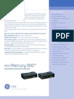 GE MDS Mercury 900 Data Sheet