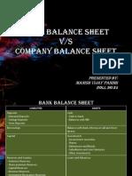 Bank Balance Sheet Final