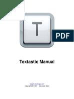 Textastic Manual
