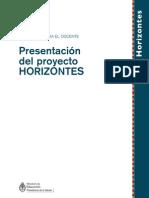 presentacion HORIZONTES