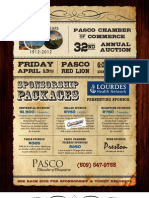 Pasco Auction Sponsorship 2012