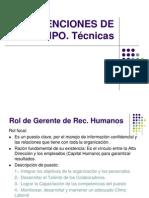 DESARROLLO ORGANIZACIONAL INTERVENCIÓN DE EQUIPO
