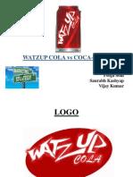 Coca Cola-WATZUP COLA Presentation - MS