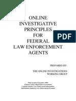 DoJ - Online Investigations
