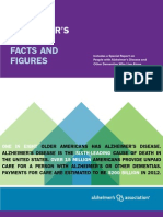 2012 Alzheimer's Disease Facts and Figures