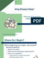 Making Essays Easy