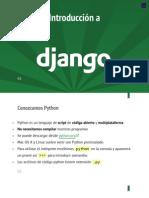 Introducción a Django/Python