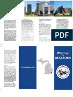 Homework #7 - Dearborn, MI Flyer