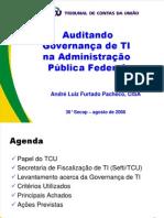 TCU Palestra - Auditando Governança de TI na APF