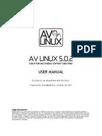 AV LINUX 5.0.2 - Debian Manual
