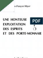 1985 MAYER Honteuse Exploitation