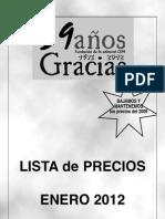 precios2012