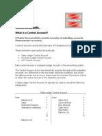 Control Accounts Notes