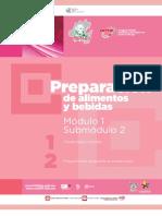 Guía formativa, PREPARACIÓN DE ALIMENTOS Y BEBIDAS 12, CECyTEH 2012 Gobierno Hidalgo