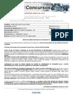 Concurso Público Edital 001_2012 - Cartão de Confirmação da Inscrição (CCI)