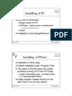 Lecture ATP