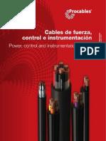 Catalogo-cables de Fuerza, Control e Instrumentacion