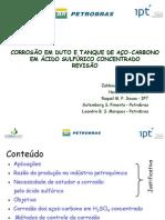 CORROZÃO DE TANQUES H2SO4